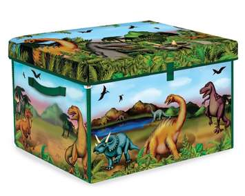 Neat-Oh! ZipBin Dinosaur Collector Toy Box & Playset picture