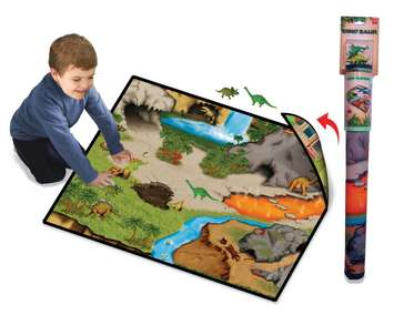Neat-Oh!®  Dinosaur Prehistoric World 2-Sided Playmat picture