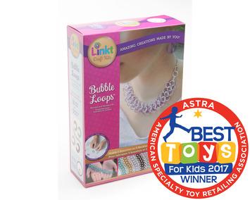 Linkt™ Craft Kits - Bubble Loops (5 Necklace OR Bracelet Set) picture
