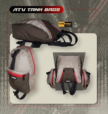 R7 ATV Tank Bag Set With Top Bag Option picture