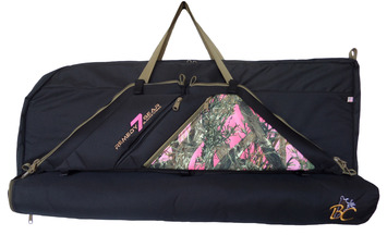 """36"""" PHASE-IT BOW CASE W/ PINK T/T PANEL picture"""