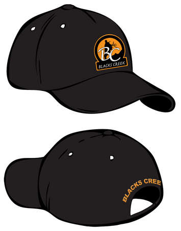 Blacks Creek Black Ball Cap picture