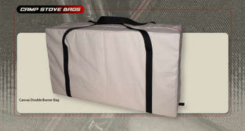 Double Burner Stove Bag (Canvas) picture