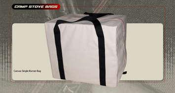 Single Burner Stove Bag (Canvas) picture