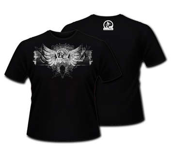 BC Skull and Wings Short Sleeve Cotton T picture