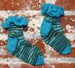 Caribbean Chocolate Socks (pdf) additional picture 1