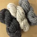 Tweed Sampler roving (6 oz)