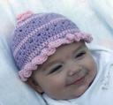 Posey Patch Crochet Hat (PDF)