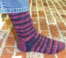 Bump in the Rib Socks (PDF)