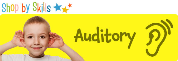 Toys For Auditory Skills