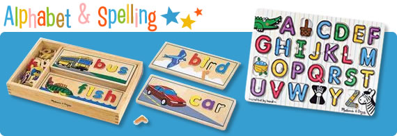 Alphabet and Spelling Toys