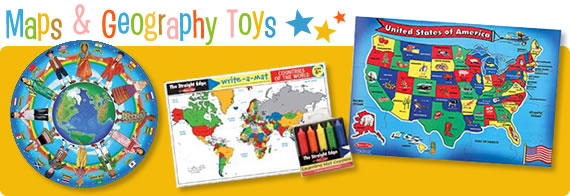Maps & Geography Toys
