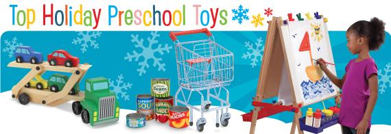 Top Holiday Preschool Toys