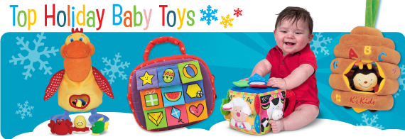 Top Holiday Baby Toys