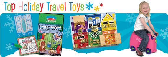 Top Holiday Travel Toys