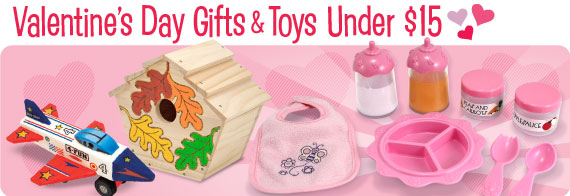 Valentine's Day Toys & Gifts Under $15