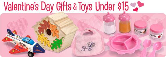 Valentine's Day Toys & Gifts Under $15