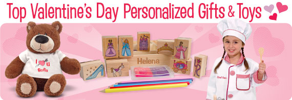Top Valentine's Day Personalized Gifts and Toys