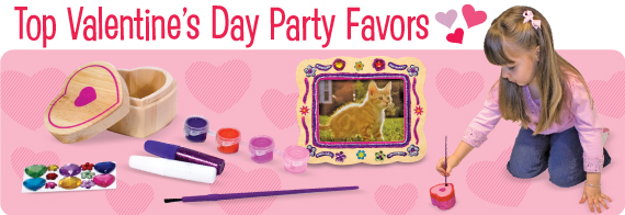 Top Valentine's Day Party Favors