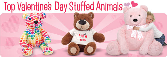 Top Valentine's Day Stuffed Animals