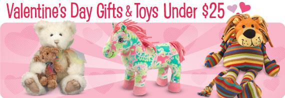 Valentine's Day Toys & Gifts Under $25