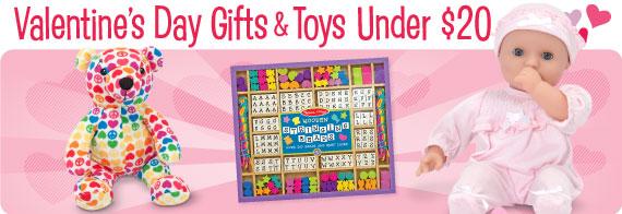 Valentine's Day Toys & Gifts Under $20