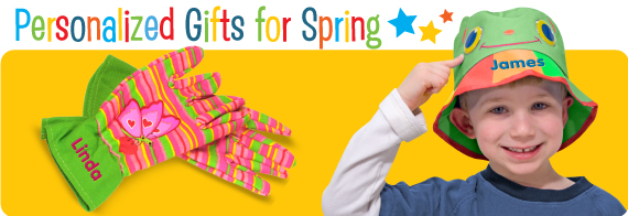Personalized Toys for Spring