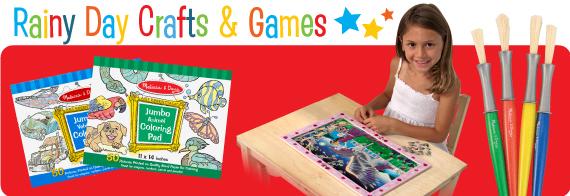 Rainy Day Crafts & Games