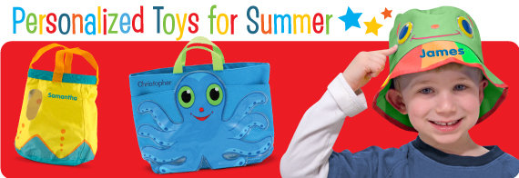 Personalized Toys for Summer