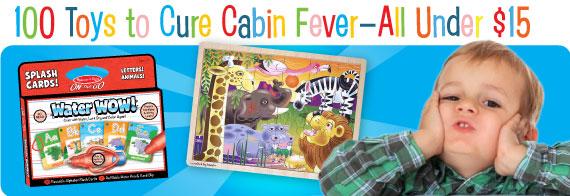 Cures for Cabin Fever Under $15