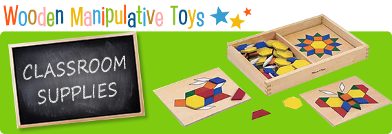 Wooden Manipulative Toys