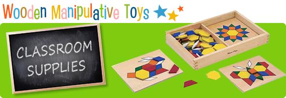 Wooden Manipulative Toys