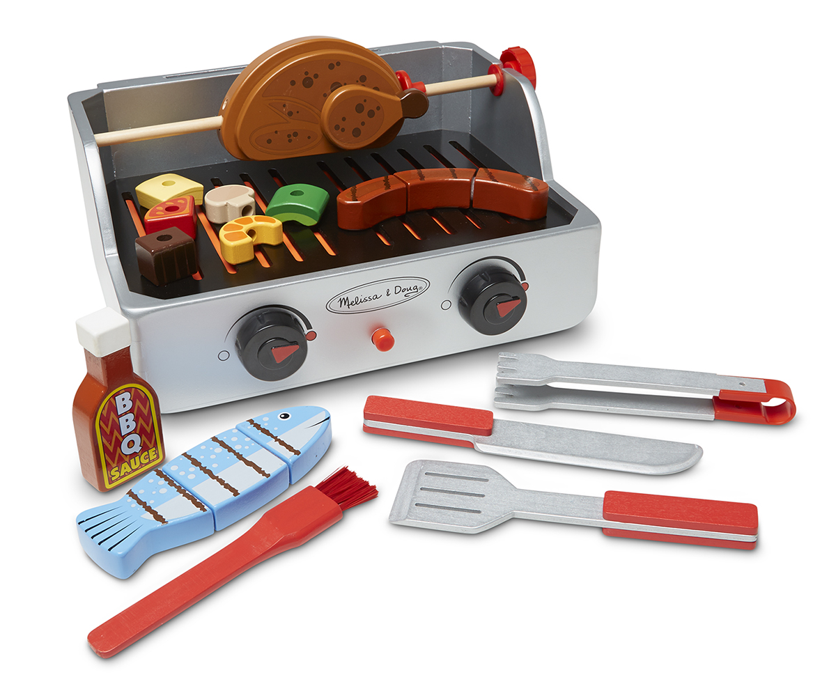 Melissa & Doug Rotisserie & Grill Barbecue Set 9269