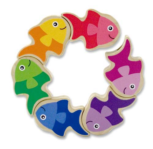 Melissa & Doug Friendly Fish Grasping Toy 3071