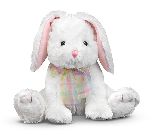 Melissa and Doug Blossom Bunny Rabbit Stuffed Animal