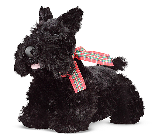 Melissa and Doug Maxwell Scottie Puppy Dog Stuffed Animal