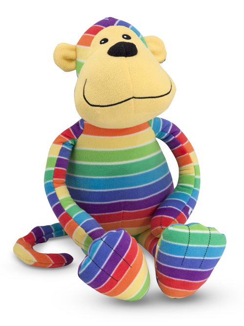Melissa and Doug Beeposh Mack Monkey Stuffed Animal