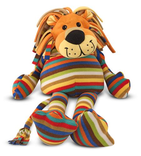 Melissa & Doug Elvis Lion Stuffed Animal 7152