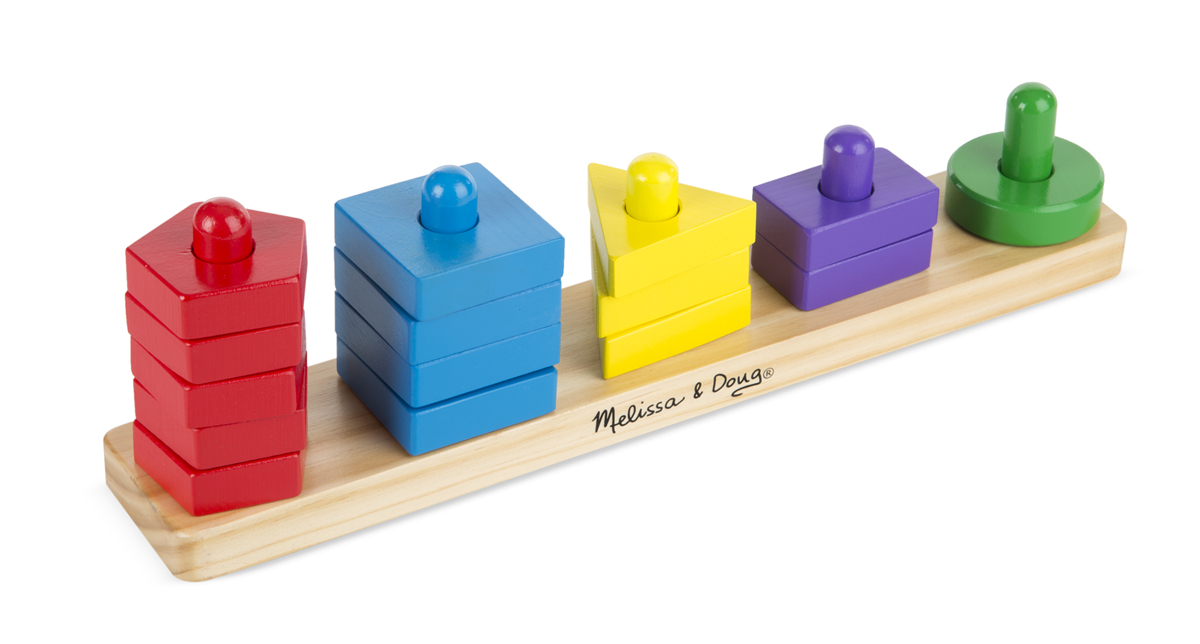 Melissa Amp Doug Stack Amp Sort Board