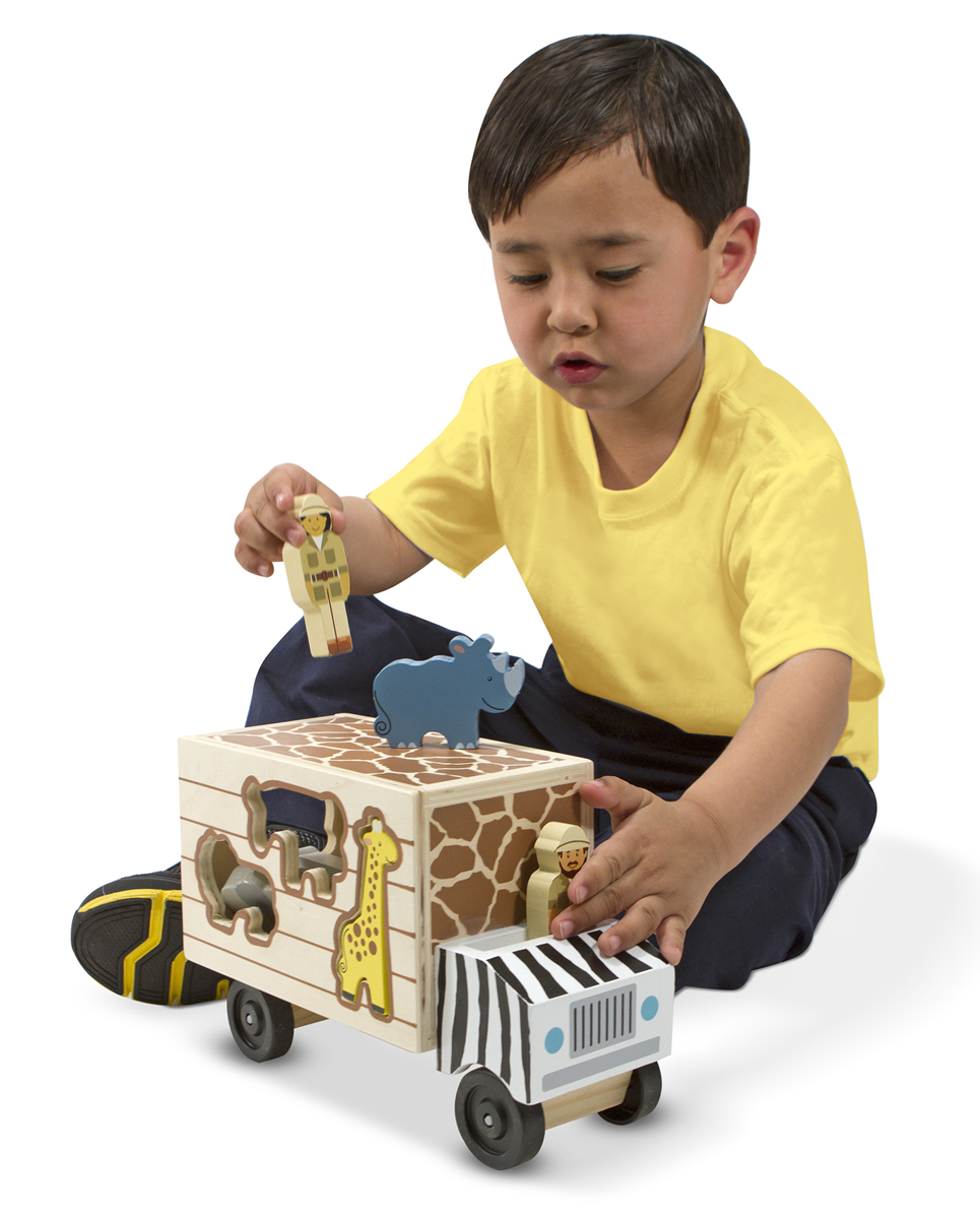 Melissa & Doug Animal Rescue Wooden Play Set 5180
