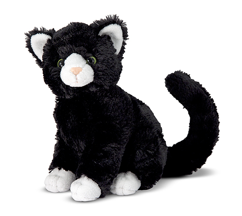 Midnight Black Cat Stuffed Animal Melissa Amp Doug