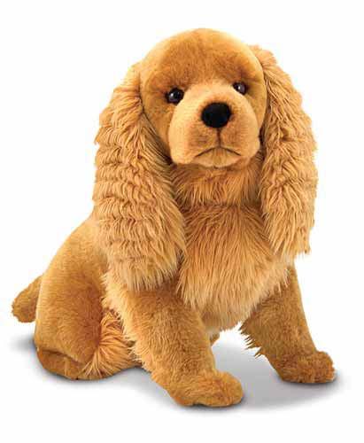 Melissa & Doug Cocker Spaniel Dog Giant Stuffed Animal