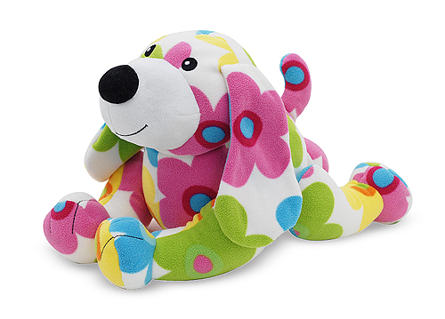 Melissa and Doug Beeposh Daisy Dog Stuffed Animal