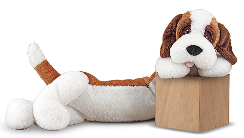 Melissa and Doug Longfellow St. Bernard Stuffed Animal