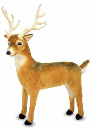 Melissa and Doug Deer Giant Stuffed Animal