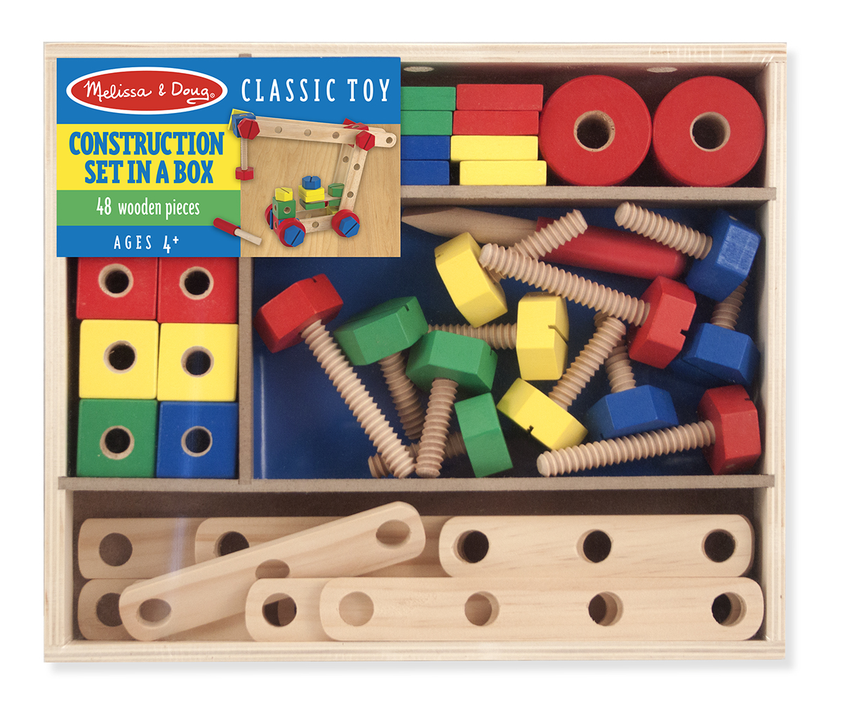 Melissa and Doug Construction Building Set in a Box