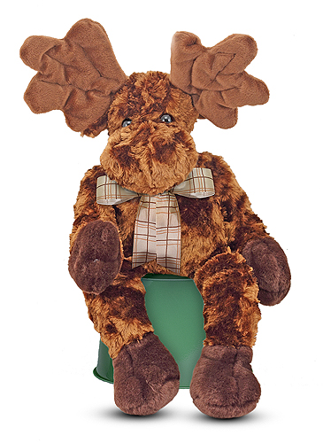 Melissa and Doug Maximillian Moose Stuffed Animal