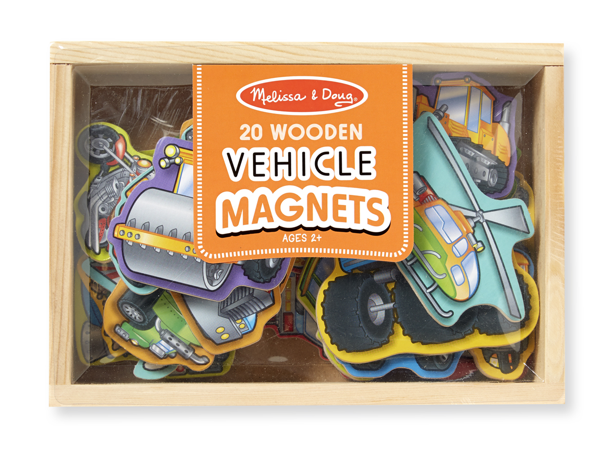 Wooden Vehicles Magnets 10 20 Melissa And Doug