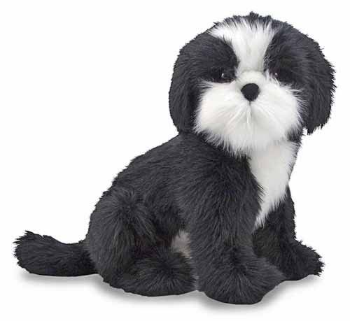 Melissa & Doug Shih Tzu Dog Giant Stuffed Animal