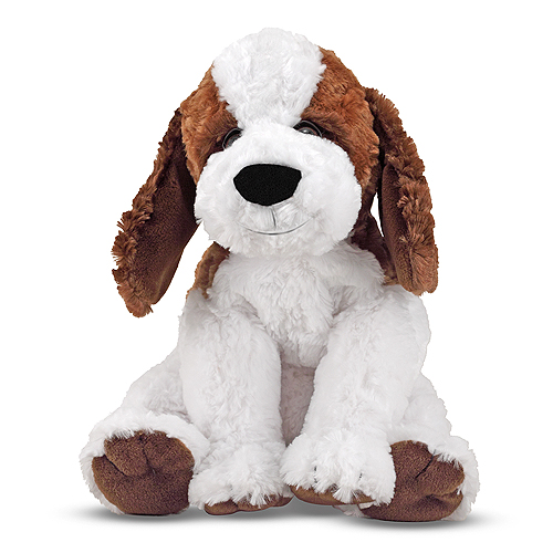 Melissa and Doug Bailey St. Bernard Puppy Dog Stuffed Animal